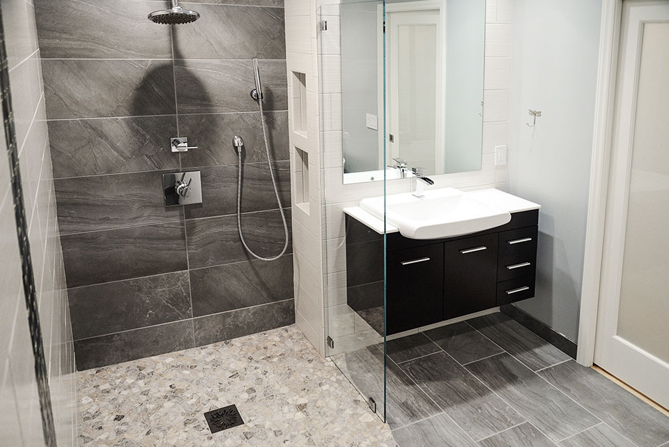 Tub-to-shower conversions by The Bath Shop of Raleigh, NC