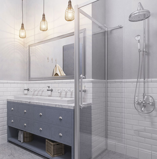 Bathroom remodeling services from The Bath Shop of Wake County
