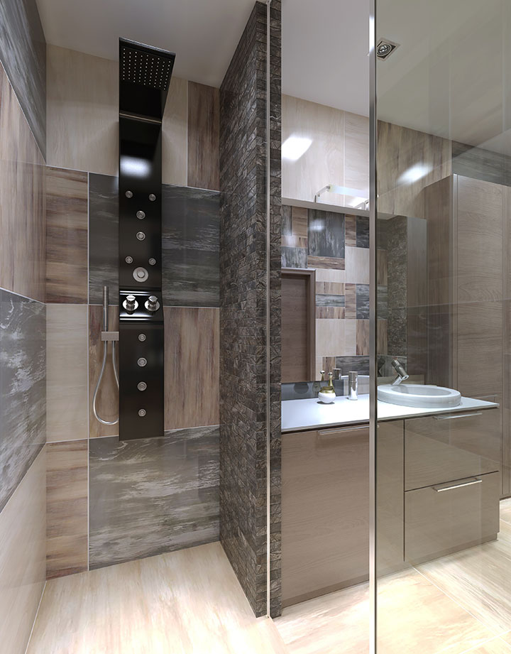 Curbless Entry Walk In Showers From The Bath Shop